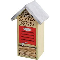 Buy Fallen Fruits Insect Hotel at Argos.co.uk - Your Online Shop for Bird baths, feeders and houses, Garden ornaments and accessories, Garden decoration and landscaping, Home and garden.