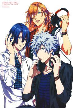 Resultado de imagem para uta no prince-sama maji love revolutions Hot Anime Guys, Anime Love, Vocaloid, Jinguji Ren, Anime Prince, Estilo Anime, Uta No Prince Sama, Nanami, The Shining
