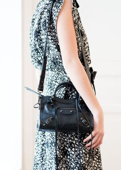 Black Classic Mini City #balenciagadiscount