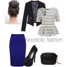 """""""Apostolic Fashion"""" this is pretty. Apostolic Fashion, Modest Fashion, Fashion Outfits, Womens Fashion, Apostolic Style, Modest Outfits, Cute Outfits, Modest Clothing, Modest Apparel"""