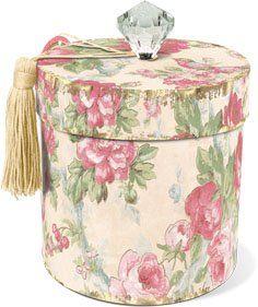 Punch Studio Vintage Rose Toilet Tissue Holder