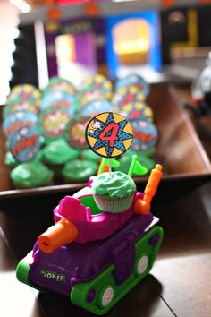 Gotham City Cupcakes