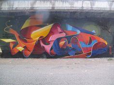 Dado - Italian Street Artist - Bologna (IT) - 11/2015 - |\*/| #dado #streetart #italy