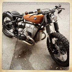 Bmw #bobber #motos #motorcycles | caferacerpasion.com