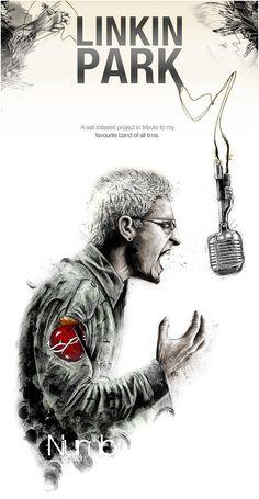 Linkin Park by Tom J Manning
