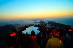 Corcovado, Rio de Janeiro, Brasil.