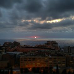 #Fontvieille *good #morning...* #monaco#montecarlo#riviera#frenchriviera#lights #sunlight #sunset #red #fire #sun #aube #landscape #paysage #panorama #sea #mediterranean #méditerranée #fontvieille #sky #clouds #cloud #grey #mer #sunbeam #silversea #silversky #silver #iron by vinchiant from #Montecarlo #Monaco
