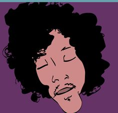 Jimi Hendrix Purple Dazed