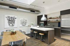 Modern, minimalistic, and artistic home design.