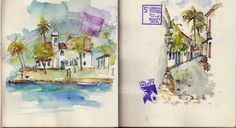 Urban Sketchers Germany: Urban Sketching Symposium Paraty