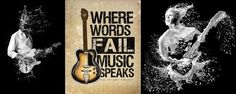 Where words fail music speaks Music Tones, Fails, Words, Movie Posters, Movies, Films, Film Poster, Make Mistakes, Cinema