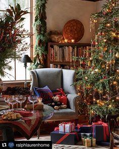 ralph lauren home holiday Christmas Mood, Noel Christmas, Country Christmas, All Things Christmas, Xmas, Magical Christmas, Christmas Clipart, Christmas Vacation, Christmas Movies