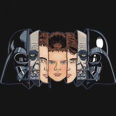 Evolution of Anakin Skywalker  Star Wars