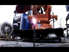 3D Printing With Metal. Cool robot which effectively prints 3D metal lines in any direction without any support structures 3d printing with metal https://www...