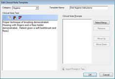 creating custom clinical note templates dentrix enewsletter tip 5