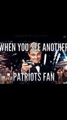 The Patriots Rule!
