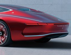 Vision Mercedes-Maybach 6. First appearance in Pebble Beach on 18th August 2016.