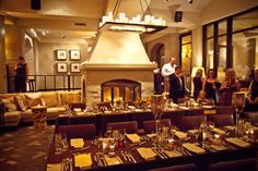 Tired of the same old ballroom setup for your #wedding? Try Park Hyatt Beaver Creek's Private Dining Room!