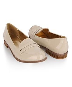 Patent Leatherette Loafers - Shoes - 2064787140 - Forever21 - StyleSays