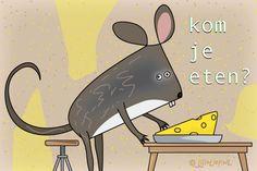 """Gratis e-card: """"Kom+je+eten?"""""""