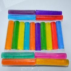 Homemade Soap Crayons