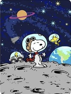 Snoopy in space Snoopy Comics, Peanuts Cartoon, Peanuts Snoopy, Snoopy The Dog, Charlie Brown Und Snoopy, Snoopy Und Woodstock, Peanuts By Schulz, Snoopy Images, Flying Ace