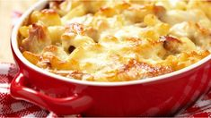 This easy and delicious recipe uses leftover cooked chicken and store cupboard ingredients...