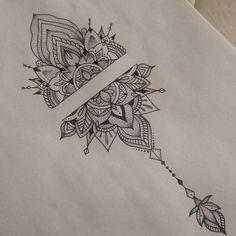 Ankle Tattoos For Women Mandala, Mandala Hand Tattoos, Tribal Tattoos For Women, Ankle Tattoo Designs, Mandala Tattoo Design, Ankle Tattoo Mandala, Boho Tattoos, Leg Tattoos, Body Art Tattoos