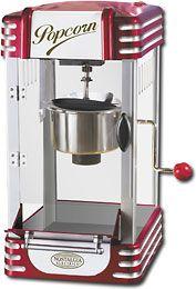 Retro awesomeness! Popcorn machine...