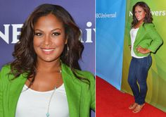Laila Ali July 2012. Beautiful! Laila Ali, Press Tour, Girl Inspiration, Stargazing, How To Feel Beautiful, Curvy, Stars, Hourglass, Face