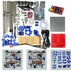 (Express)Geeetech Unassembled/DIY Fully 3D Printer kit Prusa Mendel I2(Iteration 2) RepRap-Controller board:RAMPS1.4 Mega2560