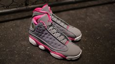 NIKE GIRLS AIR JORDAN XIII RETRO (GS)