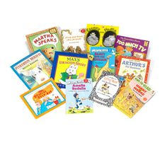 """Did you know that reading throughout the summer can help prevent the """"summer slide,"""" the inevitable back slide in academic achievement (equivalent to about 2 months!) students experience each summer?  Encourage summer reading with this fun book set that introduces 12 popular books for newly independent readers- beautifully wrapped and shipped right to their door!"""