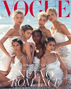 STUNNING. New romance in @voguespain starring our Angels.