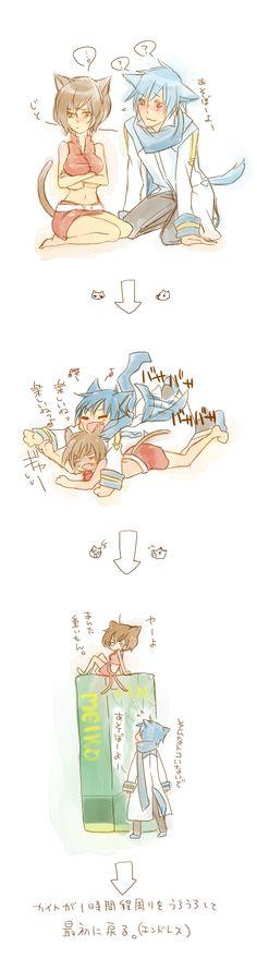 Kaito x Meiko