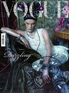 Saskia De Brauw by Steven Meisel Vogue Italia March 2011