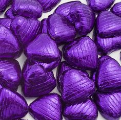 Sweets PartyChocolate Hearts - Purple£0.20each