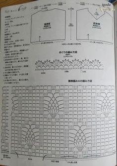 Crochetemoda: Túnica Branca de Crochet