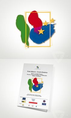 Fundación EuroAmérica -   Foro México - Unión Europea  - www.versal.net • Diseño Gráfico • Identidad Visual Corporativa • Publicidad • Diseño Páginas Web • Ilustración • Graphic Design • Corporate Identity • Advertising • Web Pages • Illustration • Logo