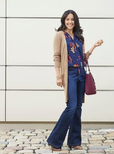 Just got off of work and need to find something to wear for a dinner date out? Fall fashion transitions don't need to be hard! Make your outfit switch easy by throwing on a printed, flowy maxi dress with simple peep-toe booties and a clutch. It's effortless, stylish and so on trend!.