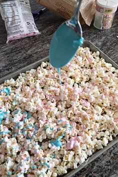 Unicorn Popcorn - A Tasty Treat! Unicorn Popcorn - A Tasty Treat! Unicorn Popcorn - A Tasty Treat!<br> Unicorn Popcorn is a tasty treat is super simple to make and only takes 2 ingredients! Make it for your next party, movie night, or just because. Unicorn Themed Birthday Party, Unicorn Birthday Parties, Birthday Party Themes, Card Birthday, 5th Birthday, Birthday Invitations, Birthday Gifts, Diy Birthday Treats, Birthday Party Food For Kids