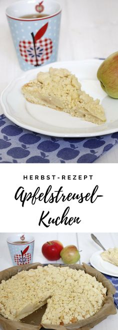 Apfelstreuselkuchen ist ein leckeres Herbstrezept. Die Basis des Apfelkuchen mit Streuseln bildet ein Hefeteig, der mit frischen Äpfeln belegt wird. Das Streuselkuchen Rezept könnt ihr auch mit anderen Obstsorten umsetzen. Wie wäre es zum Beispiel mit Birnenkuchen?