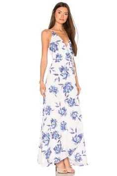 Yumi Kim Rush Hour Maxi Dress in Blue Bell