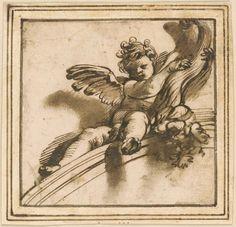 Morgan Library, Angel Statues, Old Master, Museum, Cherubs, School, Drawings, Murals, Painting