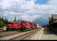 RailPictures.Net Photo: CP 8928 Canadian Pacific Railway GE ES44AC at Banff, Alberta, Canada by Jacques Leblond-Murphy