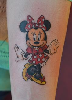 #tattoo #tattooartist #ink #inked #color #colortattoo #mouse #mini #minithemouse #cartoon #studio #bardo #studiobardo