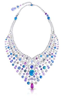 "Faberge // The Russians can rival the Italian ""dolce vita"" with this necklace. Notice the Russian ""onion"" dome shapes."
