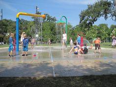 Free Fun in Austin: Summer Splash Pad Series: Pease Park