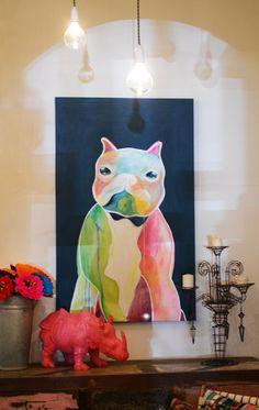 Fenton and Fenton  #french #bulldog #art