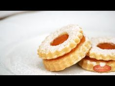 Hungarian Recipes, Hungarian Food, Linzer Cookies, Cookie Recipes, Pineapple, Peach, Candy, Fruit, Cooking
